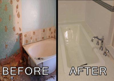 Bathroom renovation _ custom tub