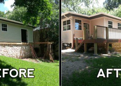 Custom Outdoor Deck Addition _ Dean