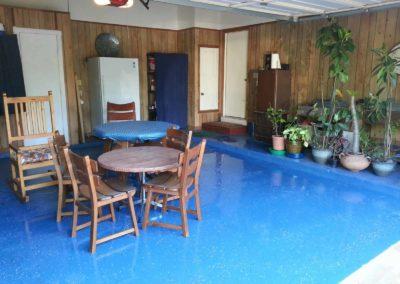 Epxoy Garage Floor Brown 2