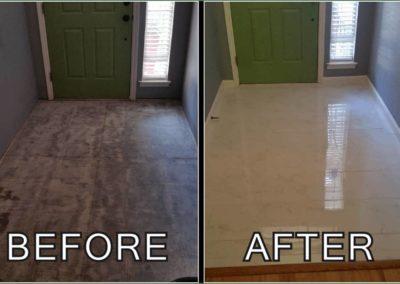 Marble Tile Flooring _ Entryway _ Jacob