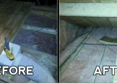 Attic Insulation BEFORE_AFTER
