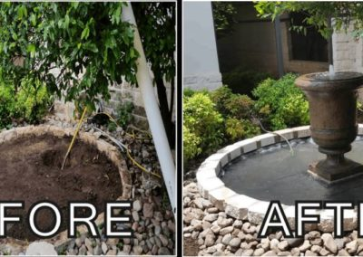 Custom Fountain and Pond Installation _ Dentist