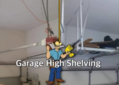 Garage Shelving_Before and After