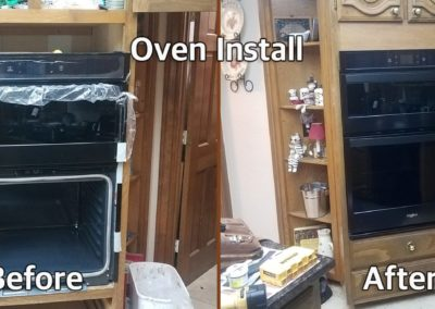 Mr Done Right Handyman Austin TX-Oven-Install