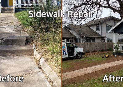 Mr Done Right Handyman Austin TX-Sidewalk-Repair